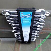 Llaves combinadas, 22 pzas Llaves de cromo-vanadio forjadas y endurecidas 633470