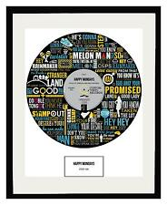 HAPPY MONDAYS - MEMORABILIA - Step On - Framed Art Poster Print - Ltd Edition