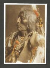 CARTE POSTALE INDIEN AMERIQUE SLOW BULL OGLALA SIOUX