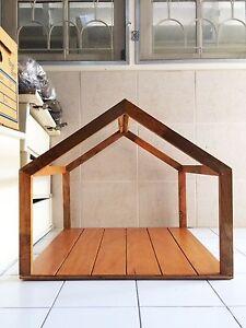 Handcrafted WOOD Cat & Dog House/Pet Shelter(Modern Frame),Indoor Cabin,Comfort