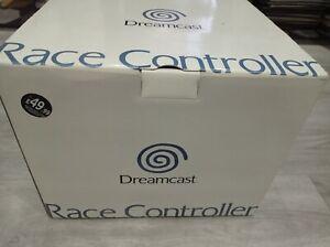 Sega Dreamcast Race Controller boxed