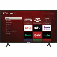 "TCL 43S435 - 43"" 4K UHD HDR Wall Mountable LED Roku Smart TV"
