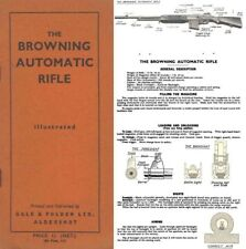 Browning Automatic Rifle c1940 Mechanism and Use (Uk)