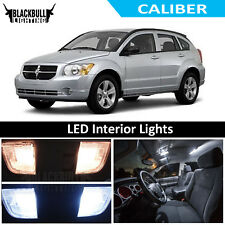 White LED Interior Lights Replacement Kit for 2007-2012 Dodge Caliber 6 bulbs