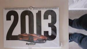 Top Gear 2013 Calendar Collectables