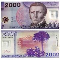 Pick 162c  Chile 2000 Pesos 2013 Unc. polymer / 6755033vvv
