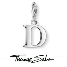 Genuine Thomas Sabo club sterling silver 925  letter initial D bracelet charm