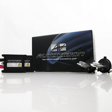 Autovizion Slim 55 Watts H4 HB2 9003 6000K Diamond White HID Xenon Kit Low Beam