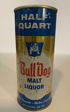 Bull Dog Malt Liquor 16oz / Pint / Half Quart Maier Brewing Los Angeles, Calif