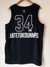 Giannis Antetokounmpo Autograph 2018 All-Star Signed Jordan Swingman Jersey JSA
