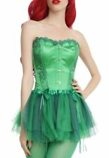 DC Comics Poison Ivy Green Corset Size L/XL Costume Cosplay