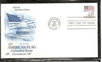 US SC #  2115b Flag Over Capitol FDC. Artcraft Cachet