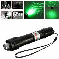 High Power Green Laser Pointer Pen Green Beam Charger 8000m Outdoor US