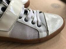 Lanvin Sneakers Patent Leather Mocassins Driving Shoes ~ Size 7 ~ Italy