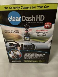 Clear Dash HD High Definition Car Video Recorder Camera As seen on TV.