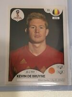 522 Kevin De Bruyne BEL Bild NEU Panini Sticker Fußball WM 2018 Russia Nr