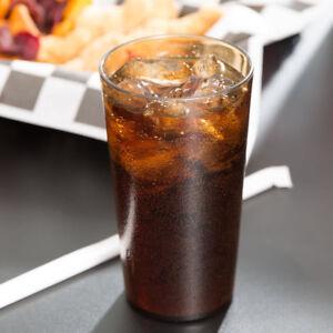 Cambro Plastic Tumbler 1200P152 12 oz. Restaurant Beverage Cup Break Resist 72pc
