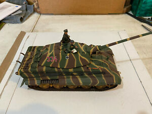 21st Century Toys Ultimate Soldier King Tiger Porsche Turret 99409 **Please Read