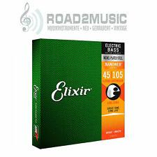 Elixir nanoweb Electric Bass light/medium 45-105 cuerdas frase Strings set 14077
