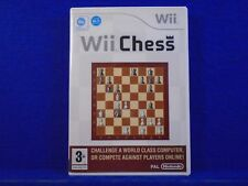 Wii CHESS Classic Board Game On The Wii PAL Nintendo