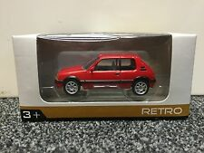 Peugeot 205 GTI Rot 1:64 Norev RETRO Ab 3 Jahren