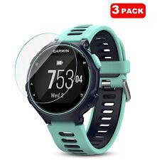 For Garmin Forerunner 735XT Smart Watch 3 x Tempered Glass Screen Protector