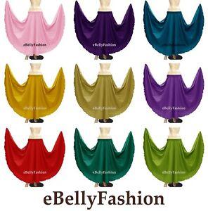 Cotton 360 Full Circle Long Skirt for Women Belly Dancing Clothing Tribal Costum