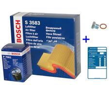 BOSCH Filtersatz - Öl-,Luftfilter für VW GOLF I II,JETTA II,SCIROCCO