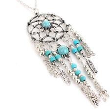 "Beautiful  3  1/2"" Large Native American DreamCatcher Pendant Ancient Wisdom"