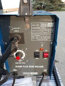 Chicago Electric 90 Amp Flux Wire Welder