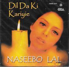 NASEEBO LAL - DIL DA KI KARIYIE - BRAND NEW SOUNDTRACK CD VOL 22 - FREE UK POST