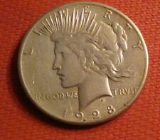 1928-P Peace Silver Dollar (Ref#1)