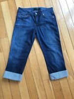 Joe's Jeans Size 26 Honey Kicker Stretch Crop Capri
