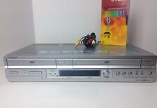 New listing Sony Slv D550P Dvd Player & Vcr Vhs Recorder Combo Silver with Blank Vhs Tape