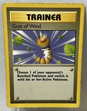 Pokémon Gust of Wind 93/102 Base Set COMMON Trainer Card