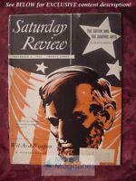 Saturday Review November 8 1952 RICHARD HANSER MINOO MASANI