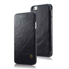 Luxury Genuine PU Leather Flip Case Wallet Cover For Apple iPhone 6 6S 7 8 Plus