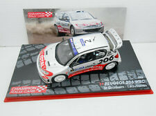 1/43 COCHE PEUGEOT 206 WRC RALLY NESTE OIL GRONHOLM RAUTIAINEN 1:43 MODEL CAR