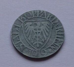 Notgeld: Germany, Boppard 5 Pfennig 1919, War money, Emergency coin