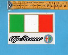 ADESIVO/STICKER - ALFA ROMEO - vintage anni 80 - cm.7,5x11