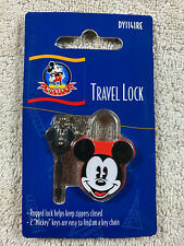 Disney Mickey's World Mickey Mouse Red Small Travel Lock with 2 Keys New