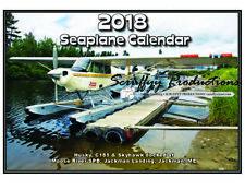 SEAPLANE WALL CALENDAR 2018 - 12 MONTHS PLUS COVER OF UNIQUE SEAPLANES