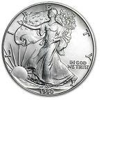 1990 Silver Eagle Fresh BU Roll of 20 Low Mintage