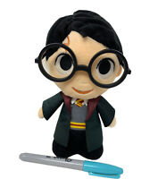 "WB Funko Harry Potter World of Wizarding 8"" Plush Doll with Glasses 2018"
