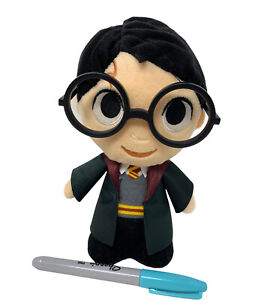 """WB Funko Harry Potter World of Wizarding 8"""" Plush Doll with Glasses 2018"""