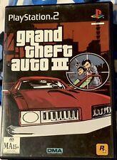 Grand Theft Auto 3 (GTA III) - Ps2 Game