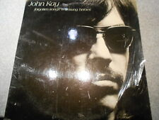 JOHN KAY  FORGOTTEN SONGS & UNSUNG HEROES   LP  WITH INSERT      491