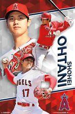 SHOEHI OHTANI - LOS ANGELES ANGELS POSTER 22x34 - MLB BASEBALL 16521