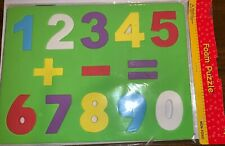 Foam Numbers Puzzle Math Kids Educational