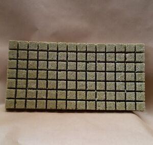 Grodan Rockwool Sheet 98 Cubes / Propagation Blocks / Hydroponics